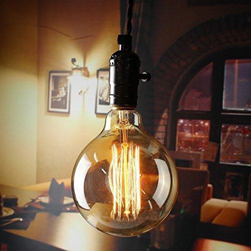 Kingso E27 Ampoules Incandescence Lampe Edison 40w 220v G125