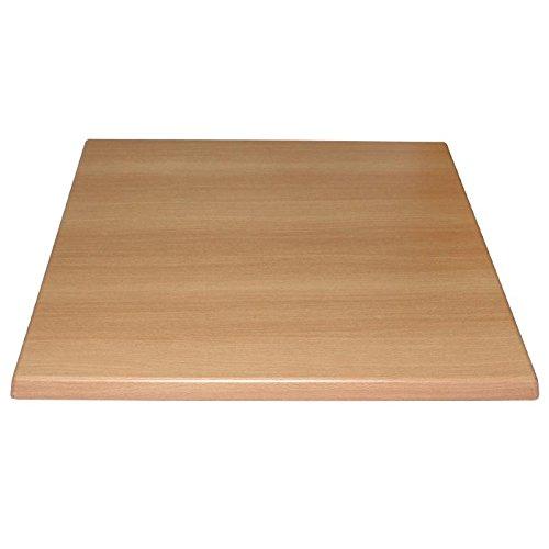 dessus de table carr en bois de h tre 600 mm par bolero bois restaurant h tel bar le diy shop. Black Bedroom Furniture Sets. Home Design Ideas